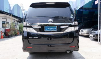 TOYOTA VELLFIRE 2.4 AT WAGON ปี 2012 full