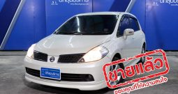 NISSAN TIIDA 5DR AT ปี 2008