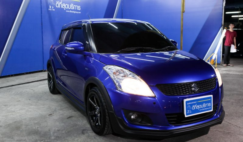 SUZUKI SWIFT GLX L CVT ปี 2014 full